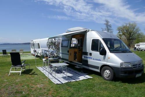 Wohnmobil mieten in Aschaffenburg von privat | Citroen Sepp