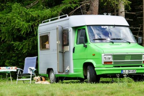 Wohnmobil mieten in Schopfheim von privat | Fiat Ducato Grüner Blitz