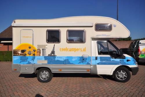 Wohnmobil mieten in Amersfoort von privat | Ford Transit Familie camper