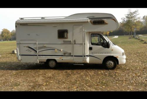 Wohnmobil mieten in Aichwald von privat | Fiat Womo  6,2 m