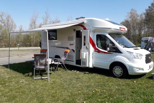 Wohnmobil mieten in Schipkau von privat | Ford, Challenger Chally