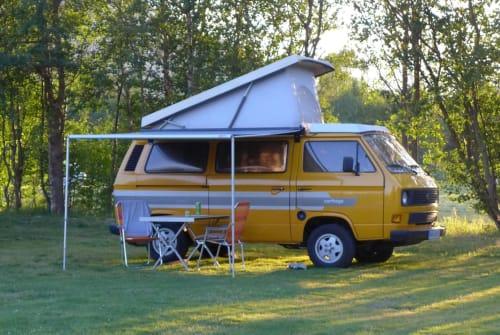 Wohnmobil mieten in Warendorf von privat | VW T3 Gelber Bus