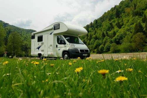 Wohnmobil mieten in Markkleeberg von privat | Fiat Ducato  Womothiele