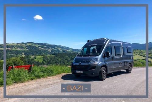 Wohnmobil mieten in München von privat | Pössl - DER BAZI -
