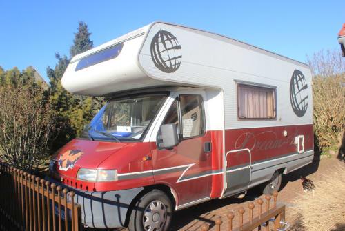 Wohnmobil mieten in Hohen Neuendorf von privat | Fiat  Lady in Red