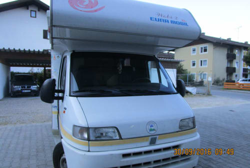 Wohnmobil mieten in Wettenberg von privat | Fiat Wobi 2