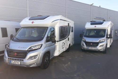 Wohnmobil mieten in Steinhagen von privat | Bürstner Mobil Dream Cam