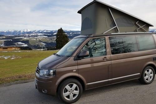 Wohnmobil mieten in Scheidegg von privat | VW Bulli - Arno