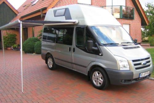 Wohnmobil mieten in Kiel von privat | Ford Transit Frank