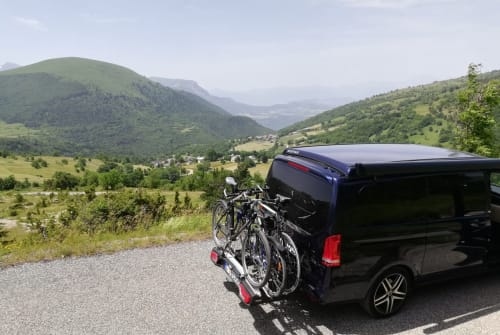 Wohnmobil mieten in Stuttgart von privat | Mercedes V Klasse Marco Polo Blue Love
