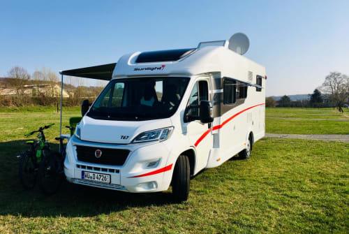 Wohnmobil mieten in Sommerhausen von privat | Sunlight Sunny