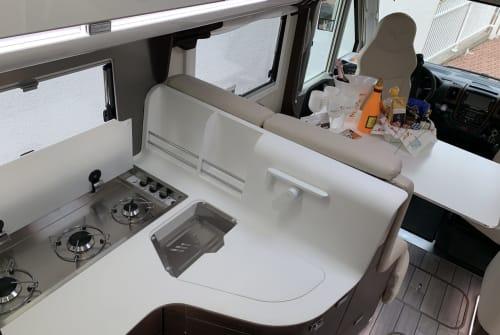 Wohnmobil mieten in Niefern-Öschelbronn von privat | Fiat  WolliMobil