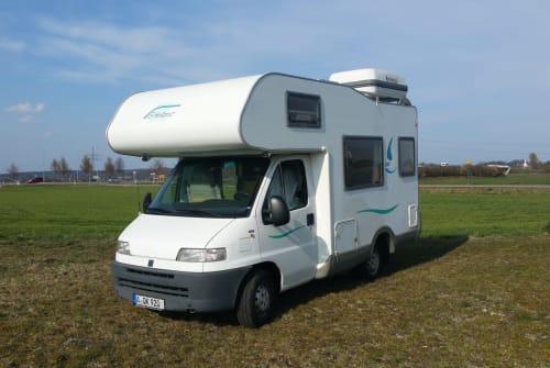 Wohnmobil mieten in Augsburg von privat | Knaus Knut