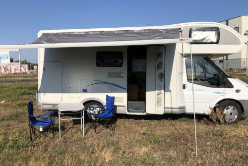 Wohnmobil mieten in Wandlitz von privat | Ford Transit Chausson  Bonnie