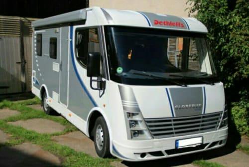 Wohnmobil mieten in Michendorf von privat | Dethleffs  Globy 1