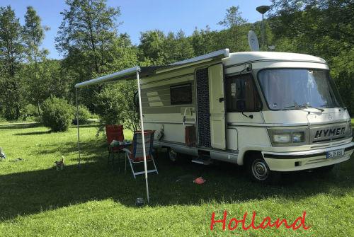 Wohnmobil mieten in Berlin von privat | Hymer Willi