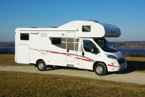 Wohnmobil mieten in Inning a. Ammersee von privat | Sunlight Helga 4.0