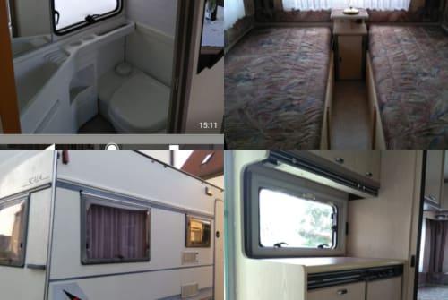 Wohnmobil mieten in Blaubeuren von privat | Bürstner Bürsty