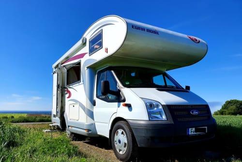 Wohnmobil mieten in Frankfurt am Main von privat | Ford Transit  Uschi
