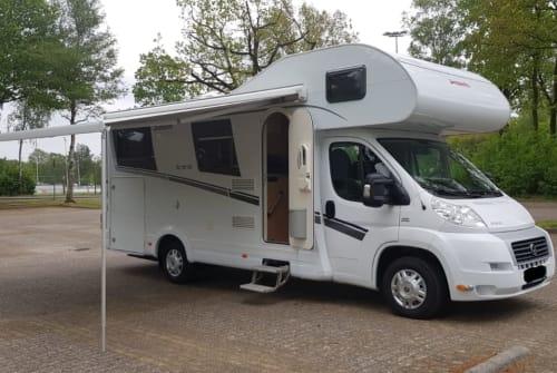 Wohnmobil mieten in Bodegraven von privat   Dethleffs Trend A 6977