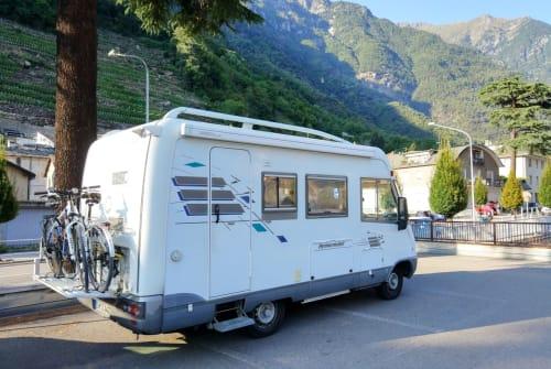 Wohnmobil mieten in Schmalkalden von privat | Hymer, Mercedes Benz, Diesel Kumo