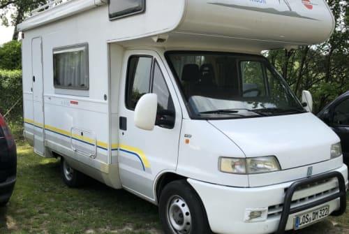 Wohnmobil mieten in Bad Saarow von privat | Fiat  Bulle