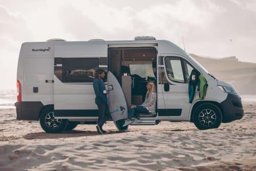 Wohnmobil mieten in Gera von privat | Sunlight Cliff 600