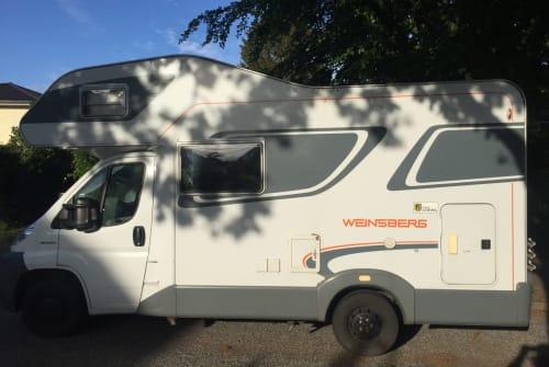 Wohnmobil mieten in Hamburg von privat | Fiat Jonna