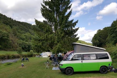 Wohnmobil mieten in Vlissingen von privat | Volkwagen  Leuke VW T4
