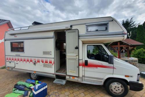 Wohnmobil mieten in Gützkow von privat | Fiat  Bärbel
