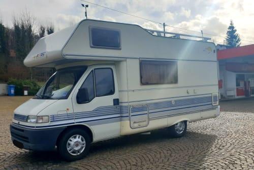 Wohnmobil mieten in Koblenz von privat | Fiat Immer Lacht