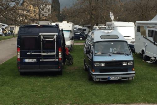 Wohnmobil mieten in München von privat   VW Der Gerät