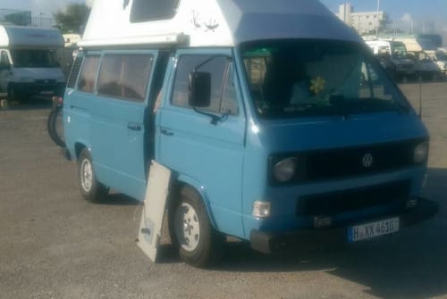 Wohnmobil mieten in Wedemark von privat | VW T3 Schlumpfstar