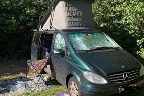 Wohnmobil mieten in gemeente Groningen von privat | Mercedes Benz Luxe hefdakbus