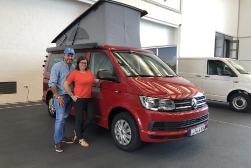 Wohnmobil mieten in Augustdorf von privat | VW T6 California Löwencamper