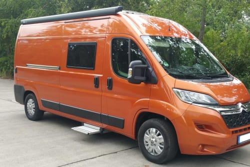 Wohnmobil mieten in Berlin von privat | Citroen Orange