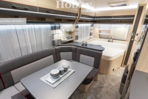 Wohnmobil mieten in Geretsried von privat | Hobby Mucki
