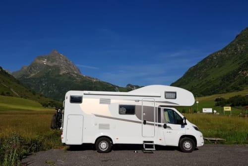 Wohnmobil mieten in Oberheldrungen von privat | Fiat Carado  Dave