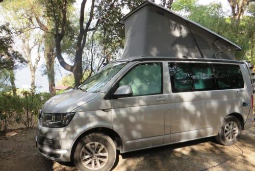 Wohnmobil mieten in Radolfzell am Bodensee von privat | VW Cali Hajo