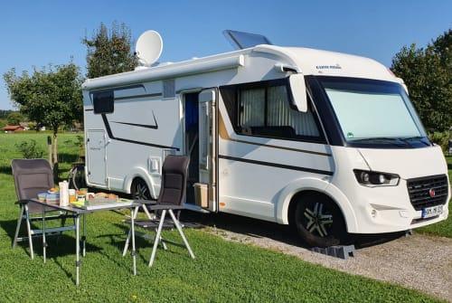 Wohnmobil mieten in Hamm von privat | EURA MOBIL Eddie