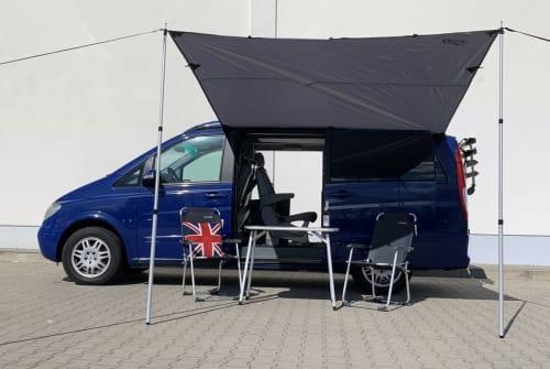 Wohnmobil mieten in Berlin von privat | Mercedes Benz Marco Polo Aufstelldach Blaubär