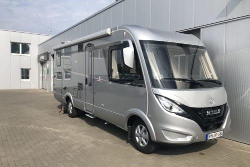 Wohnmobil mieten in Teltow von privat | Hymer / Mercedes  Reisetraum