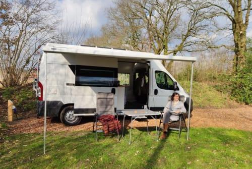 Wohnmobil mieten in Amsterdam von privat   Fiat Ducato Unieke camper