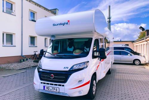 Wohnmobil mieten in Bad Dürrenberg von privat | Sunlight Goddula Grün