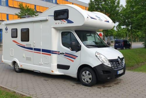 Wohnmobil mieten in Hamburg von privat | Ahorn Camp 660