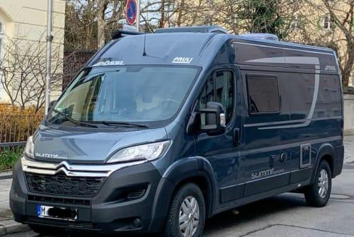 Wohnmobil mieten in München von privat | Pössl Felix