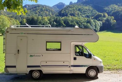 Wohnmobil mieten in Aschau im Chiemgau von privat | FIAT DUCATO GLÜCKSMOBIL