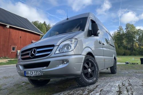 Wohnmobil mieten in Hamburg von privat   Mercedes  Brudi