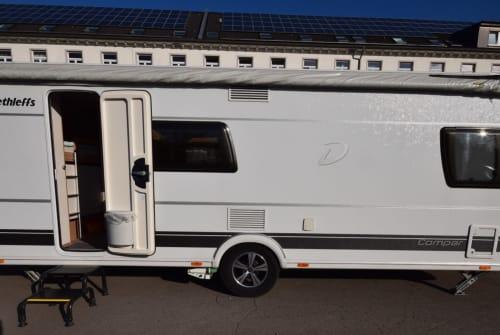 Wohnmobil mieten in Wuppertal von privat | Dethleffs Happy Family