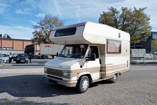 Wohnmobil mieten in Hanau von privat | Fiat Talento
